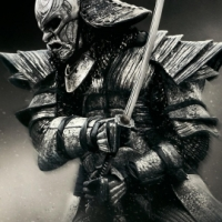 Samurai with sword avatar